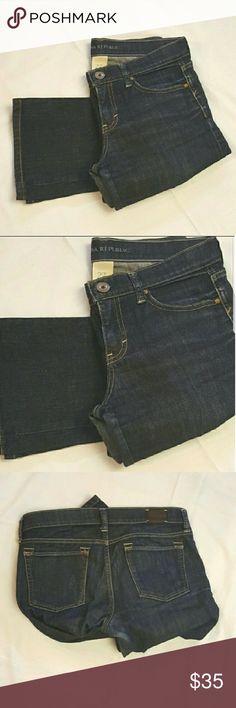 Banana Republic dark denim jeans Banana Republic dark denim jeans, in great condition. Straight leg. 28in inseam Banana Republic Jeans Straight Leg