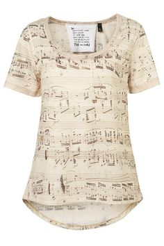 Music shirt. I think it'd be awesome to wear thos to the next SAI meeting.