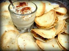 {Had on 11.2.13 5/5 they were a huge hit at our party!}  Mini Chicken Quesadillas & Cinnamon Sugar Chips | Big Red Kitchen