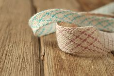 Cotton Tape trim for crafting nice colours wedding by CraftWanted