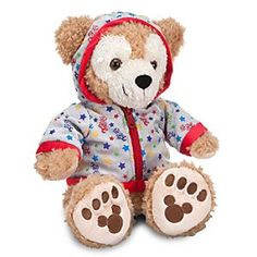 Duffy the Disney Bear Plush - 2012 Fleece Hoodie - 12'' | Disney StoreDuffy the Disney Bear Plush - 2012 Fleece Hoodie - 12'' - Our fluffy Duffy the Disney Bear toy is overstuffed with charm and dressed in a commemorative 2012 zippered hoodie so he can keep cozy while exploring the Disney Parks!