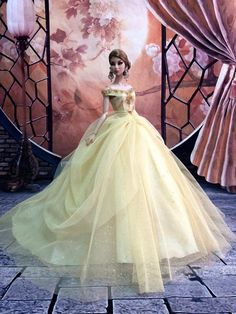 4578f94e648e PKPP 620 Fashion Royalty FR2 Silkstone Princess Dress Gown Outfit for Dolls  12