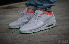 8039f530393c Nike Air Max 90 Hyperfuse ID – Pure Platinum Air Max 90 Hyperfuse