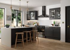 The best kitchen design ideas for your home in This expert trends round up reveals the latest modern kitchen ideas and contemporary kitchen trends from storage to two-tone kitchens. Smart Kitchen, New Kitchen, Kitchen Decor, Country Kitchen, Kitchen Ideas, Spanish Kitchen, Boho Kitchen, Kitchen Upgrades, Glass Kitchen