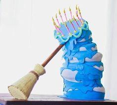 Le gâteau d'anniversaire d'Aurore dans la Belle au bois dormant