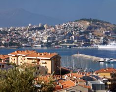 Kuşadası is a resort town on Turkey's Aegean coast and the center of the seaside district of the same name in Aydın Province.