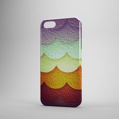 INFIGO  Hard case cover with vintage colorful by InfigoDesign, $21.95