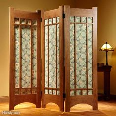 Furniture Accessories Interior Lovely Wooden Folding Screens Room Dividers With Decorative Pond Motif Endearing Room Partition Furniture Using Folding Screen Room Divider Folding Screen Room Divider, Diy Room Divider, Folding Screens, Creating An Entryway, Divider Design, Divider Ideas, Cheap Rooms, Private Room, A Table