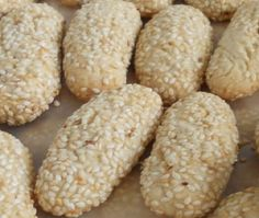 My Mom Bakes These Italian Sesame Seed Cookies! http://www.cooking-italian-recipes.com/2013/01/sesame-biscotti-italian-sesame-seed.html