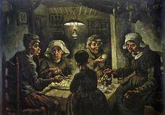 The Potato Eaters (1885) - Vincent Van Gogh