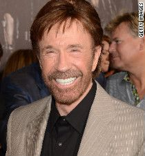 There was a street named after Chuck Norris, but they had to change the name because nobody crosses Chuck Norris and lives.