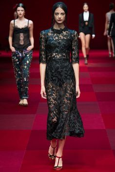 Dolce & Gabbana Spring 2015 Ready-to-Wear - Collection - Gallery - Look 46 - Style.com