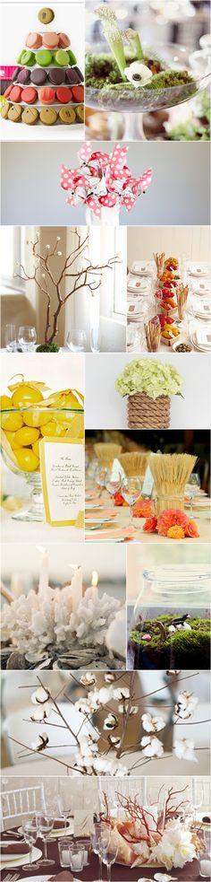Praise Wedding » Wedding Inspiration and Planning » 29 Unique Centerpiece Ideas
