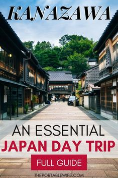 Visit Kanazawa Japan with this Kanazawa day trip itinerary. See the famous Higashiyama chaya district, Kanazawa Castle, samurai house, and Kenrokuen garden. Then, eat delicious Kanazawa food and learn about the famous Japan samurai city. Find out why Kana Tokyo Travel Guide, Japan Travel Guide, Travel Guides, China Travel, Bali Travel, Places To Travel, Travel Destinations, Kanazawa Japan, Romantic Camping