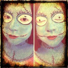 iLoveToCreate Blog #halloween #sally #facepainting
