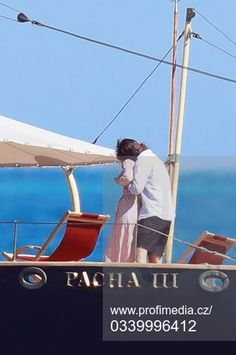 Charlotte Casiraghi And Boyfriend Aboard On The Pacha III Yacht - Monaco