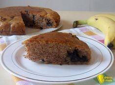 Torta senza uova con banana e cioccolato (ricetta vegan)