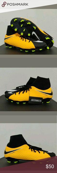 72cce26bdfa Nike Hypervenom Phelon 3 DF FG Laser Soccer cleats Brand New Without Box Nike  Hypervenom Phelon