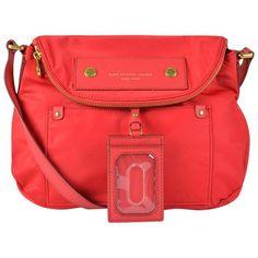 Marc Jacobs Red Nylon Bag