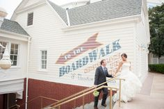 Walt Disney World BoardWalk Wedding | Destination Wedding Photographer