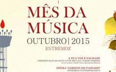 Outubro é Mês da Música em Estremoz   Elvasnews