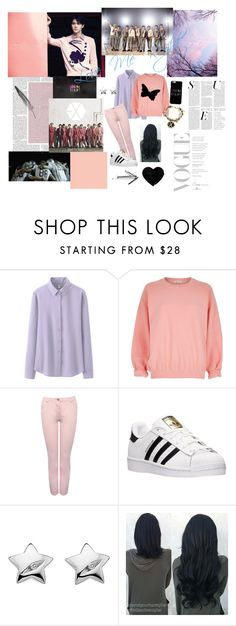 """EXO SEHUN LOVE ME RIGHT INSPIRED LOOK!!!!!!! ❤️❤️❤️❤️❤️❤️❤️❤️❤️❤️❤️❤️❤️❤️❤️"" by taryn2088 on Polyvore featuring Uniqlo, River Island, M&Co, adidas and Hot Diamonds"