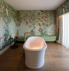 After a soft opening earlier this year, the Tierra Santa Healing House spa at the Faena Hotel in Miami Beach is fully open, with shaman-inspired treatments and natural ingredients from . Hotel Miami, Miami Beach Hotels, Miami Florida, Beach Chairs, Alice In Wonderland, Interior Design, United States, Home Decor, Tips
