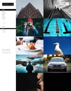 Thirteen is Premium full Responsive Retina Parallax #WordPress #Photography Theme. WooCommerce. #VideoBackground. One Page. Test free demo at: http://www.responsivemiracle.com/cms/thirteen-premium-responsive-photography-creative-wordpress-theme/
