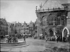 Bremen Marketplace, Germany 1910