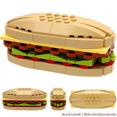 #LEGO sub sandwich.