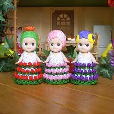 1pcs / Rose Flower Dress For Sonny Angel / Sonny by HandKnitMania
