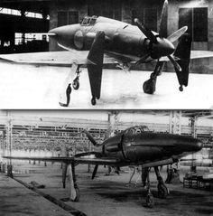 """SHINDEN"" experimental interceptor WW II"