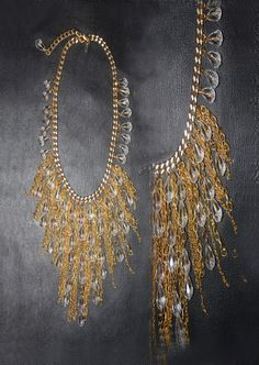 Necklace Sabina For order and info: contact@intidharsaleh.com http://www.facebook.com/pages/Intidhar-Saleh/194611523977854?ref=hl
