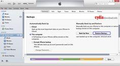 restore-from-backup-using-itunes-method-2 http://www.cydiadownload.info/backup-restore-itunes/#.U4bhcHKSx2J