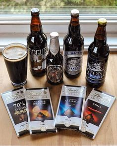 Beer and chocolate might not seem like they'd make the best of friends, at least at first. Take a stroll over to the section of the store where the darker brews reside and you'll start to see where this is headed. Mocha stouts? Nutty brown ales? Rich and spicy Belgian dubbels? Let's skip dinner and head straight for the dessert course.