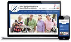 Physician  medical website design   #Optimized360.com