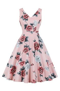 Find Women Summer Dresses Casual Vintage Plus Size Elegant Office Vestidos Dame Sexy Aline online. Shop the latest collection of Women Summer Dresses Casual Vintage Plus Size Elegant Office Vestidos Dame Sexy Aline from the popular stores - all in one Sleeveless Swing Dress, Belted Dress, The Dress, Plus Size Skater Dress, Pink Floral Dress, Floral Dresses, Retro Dress, Fit Flare Dress, Vintage Dresses