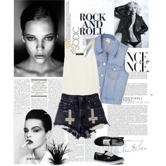 Rock and roll!, created by jayy-nna on Polyvore