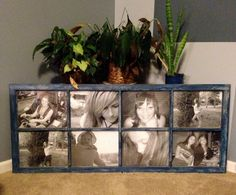 custom picture frame made from salvaged door by GergenStudio, $200.00