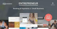 Entrepreneur v1.2.1 – Booking for Small Businesses