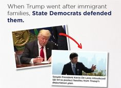 When Trump went after immigrant families  State Democrats defended them