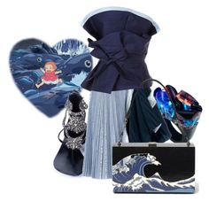 """""""Wave"""" by cute-but-psycho-123 ❤ liked on Polyvore featuring Ghibli, Aminah Abdul Jillil, Pasionae, Sacai and Johanna Ortiz"""