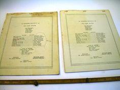 1946 1947  YOUNG Ladies INSTITUTE 160 Ventura California 2 sorority directory