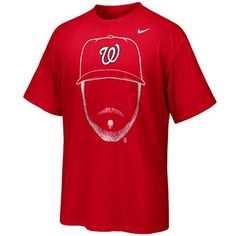 Nike Jayson Werth Washington Nationals 2012 MLB Hair-itage T-Shirt - Red (Size someone buy this for me :) Georgia Bulldogs T Shirts, Ncaa Final Four, Nike Ohio State, Mlb Merchandise, Sport Outfits, Baseball Outfits, Baseball Teams, Football Gear, Men's Basketball