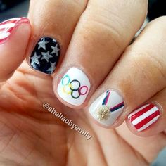 olympic nails slide 5
