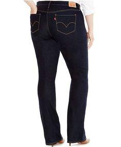 3d3b7d8057186 Levi s® Plus Size 315 Shaping Bootcut Jeans - Jeans - Plus Sizes - Macy s  Jeans