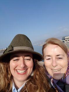 Trieste 2017 foulard per mamma e cappello per me 7df7eafc64d0