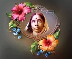 Sarada Devi Ah! If anyone has but a particle of such prema! What yearning! What love! Radha possessed not only one hundred per cent o. Good Morning Messages, Morning Quotes, Durga Puja Kolkata, Lord Krishna, Shiva, Indian Saints, Good Morning Photos Download, Kali Goddess, Spiritual Images