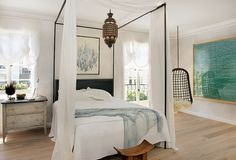 guest bedroom designed by Will Wick SF Showhouse_2010 by sfluxe, via Flickr
