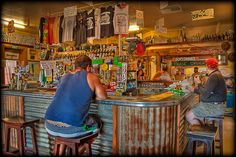 Aussie pubs in the outback! Brisbane, Melbourne, Pub Interior, Old Pub, Pub Bar, Largest Countries, Byron Bay, Rustic Decor, Shed